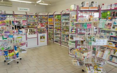 Interiér lékárny
