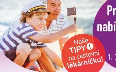 Akční prázdninový leták 1.7.-31.8.2018